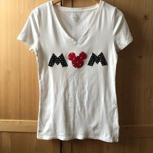 Tops - VGUC Disney Appliqué Mom Shirt
